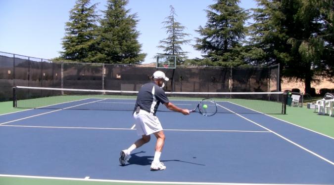 Укороченный удар (дроп-шот) в большом теннисе