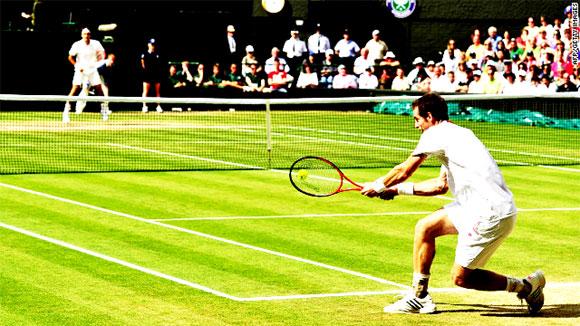 Изучение действий противника в большом теннисе