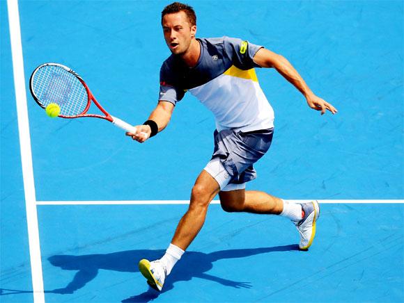 Немецкий теннисист Филипп Кольшрайбер