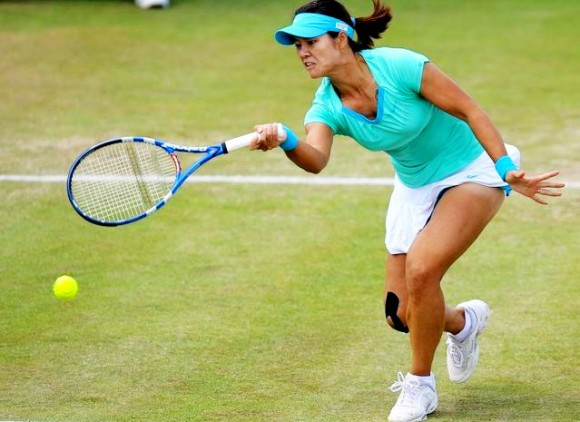 Крученый удар в большом теннисе
