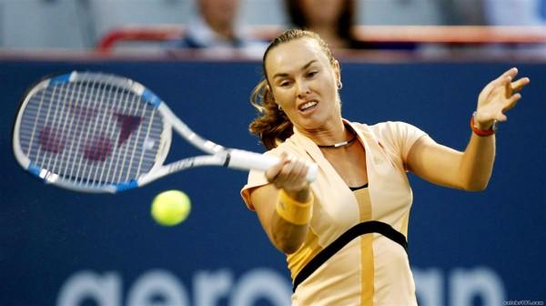 Мартина Хингис на турнире WTA