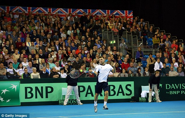 Сборная России по теннису уступила Великобритании в Кубке Дэвиса