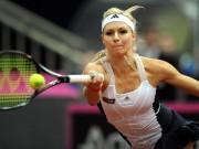 Мария Кириленко в матче против Цибулковой