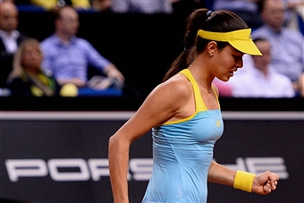Ана Иванович вышла в полуфинал турнира в Мадриде