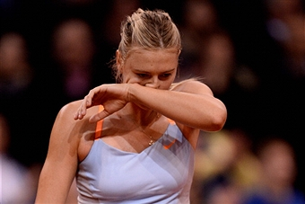 Мария Шарапова проиграла первый сет в финале турнира в Мадриде