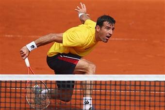 Чилич на турнире Internazionali BNL d'Italia одолел Голубева
