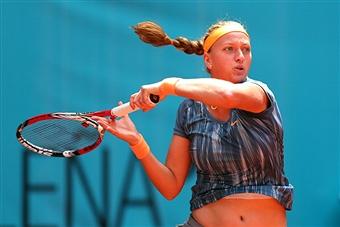 Квитова во втором круге в Риме обыграла Лисицки