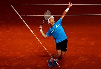 Николай Давыденко проиграл в первом раунде турнира в Риме
