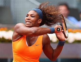 Серена Уильямс в полуфинале Mutua Madrid Open