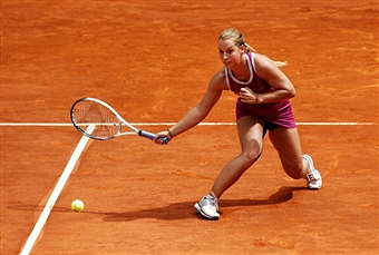 Доминика Цибулкова преодолела первый круг турнира в Риме