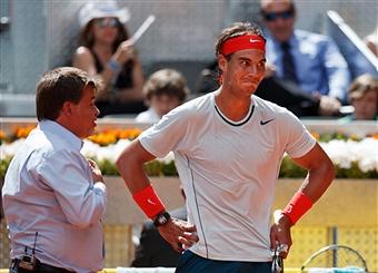 Надаль обыграл Феррера в четвертьфинале турнира в Мадриде