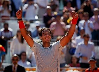 Надаль стал первым финалистом турнира «Мастерс-1000» в Мадриде