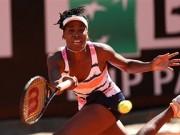 Винус Уильямс уступила Лоре Робсон в первом круге турнира в Риме