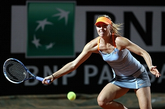 Мария Шарапова снялась с соревнований в Риме