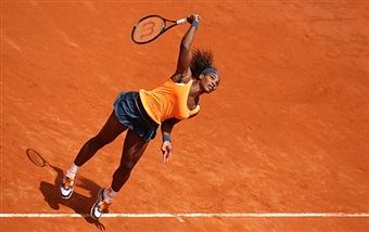 Серена Уильямс в полуфинале турнира в Риме