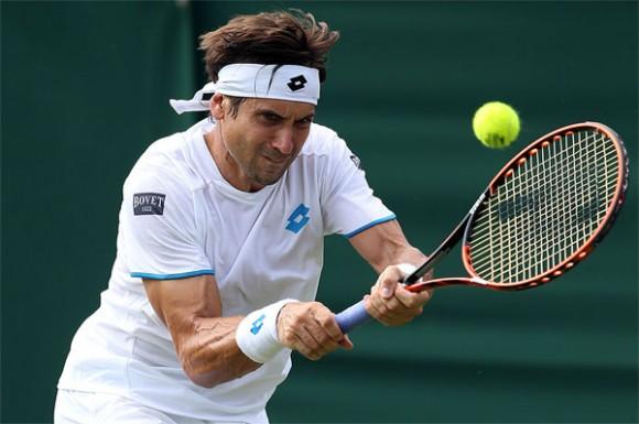 Давид Феррер на турнире ATP