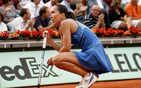 Елена Янкович в третьем круге, Турсунов выбыл на Ролан Гаррос
