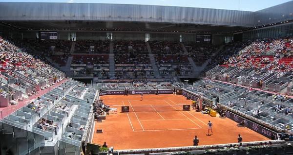 Расписание очередного игрового дня на Mutua Madrid Open