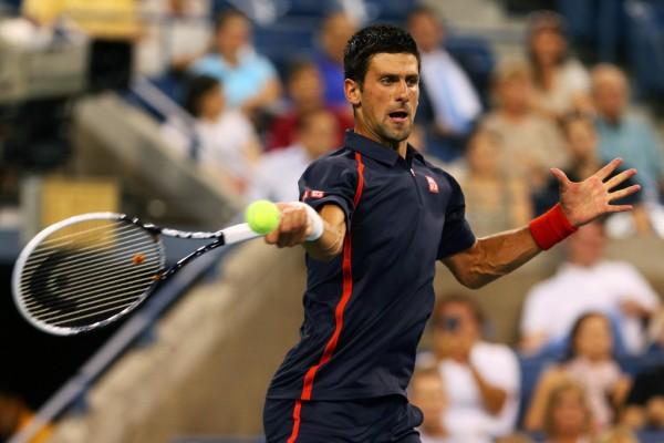Новак Джокович на Открытом Чемпионате США по теннису