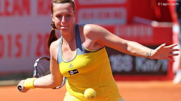 Анастасия Павлюченкова в финале турнира в Оэйраше