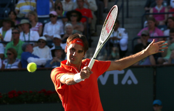 Роджер Федерер выиграл свой первый матч на турнире в Мадриде