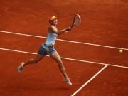 Мария Шарапова на турнире в Мадриде