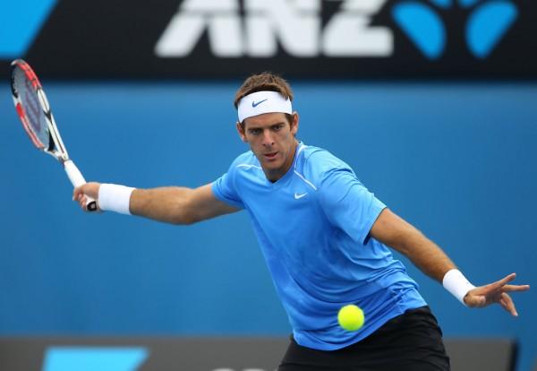 Хуан Мартин дель Потро на Открытом Чемпионате Австралии по теннису