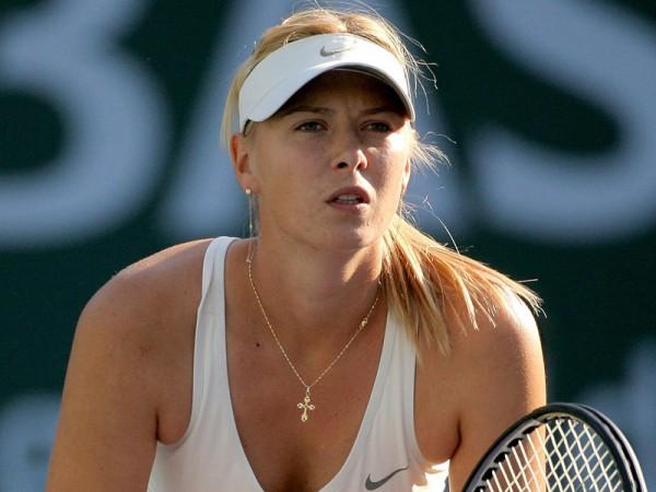 Мария Шарапова на турнире WTA