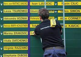 Соперницы теннисисток из Топ-10 в первом круге Уимблдонского турнира