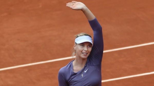 Мария Шарапова прошла в следующий круг в Париже