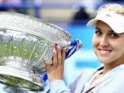 Веснина стала триумфатором женского турнира в Истбурне