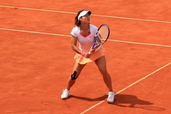 На Ли на Открытом Чемпионате Франции по теннису