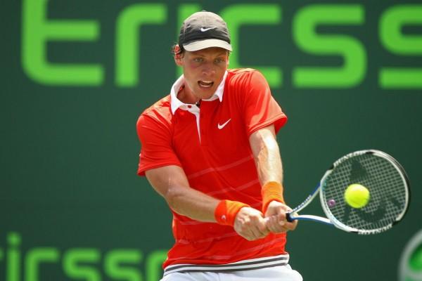 Томаш Бердых на турнире Sony Open