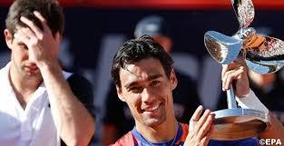 Фоньини стал победителем турнира в Гамбурге
