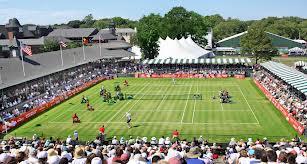 В Нюпорте стартовал травяной турнир Hall of Fame Tennis Championships