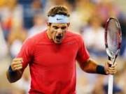 Хуан Мартин дель Потро провел непростой поединок на старте US Open