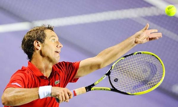 Ришар Гаске на турнире ATP