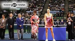 Стартовал престижный женский турнир Toray Pan Pacific Open в Токио