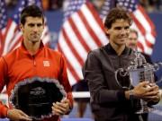 Лучшие моменты матча Надаль-Джокович на US Open 2013