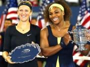 Фрагменты финального матча US Open 2013 Азаренко-Уильямс