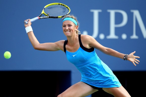 Виктория Азаренко на турнире WTA