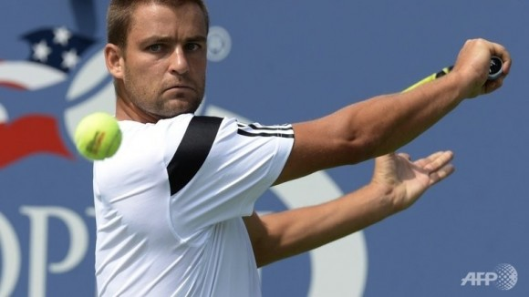 Михаил Южный на Открытом Чемпионате США по теннису