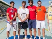 Видео конкурса на самую длинную подачу на турнире в Валенсии
