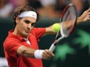 Роджер Федерер одолел Дениса Истомина во втором круге турнира в Базеле