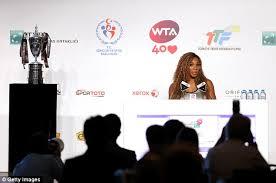 Серена Уильямс стала первой на Итоговом чемпионате WTA в Стамбуле