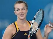 Анастасия Павлюченкова неудачно стартовала на турнире чемпионок WTA