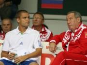 Михаил Южный (слева) и Шамиль Тарпищев