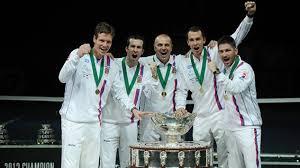 Сборная Чехии второй год подряд завоевывает Кубок Дэвиса
