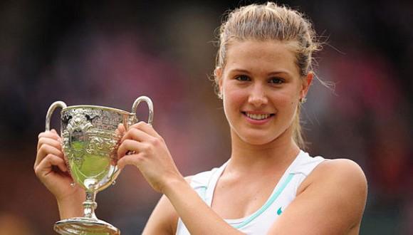 Открытием года в женском теннисе стала Эжени Бушар