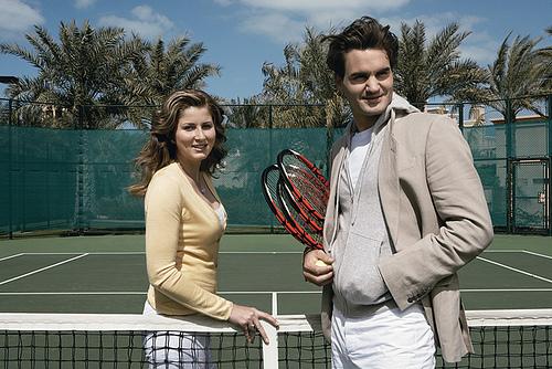 Федерер в третий раз станет отцом